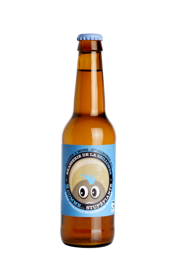Bière blonde artisanale Stupéfiante