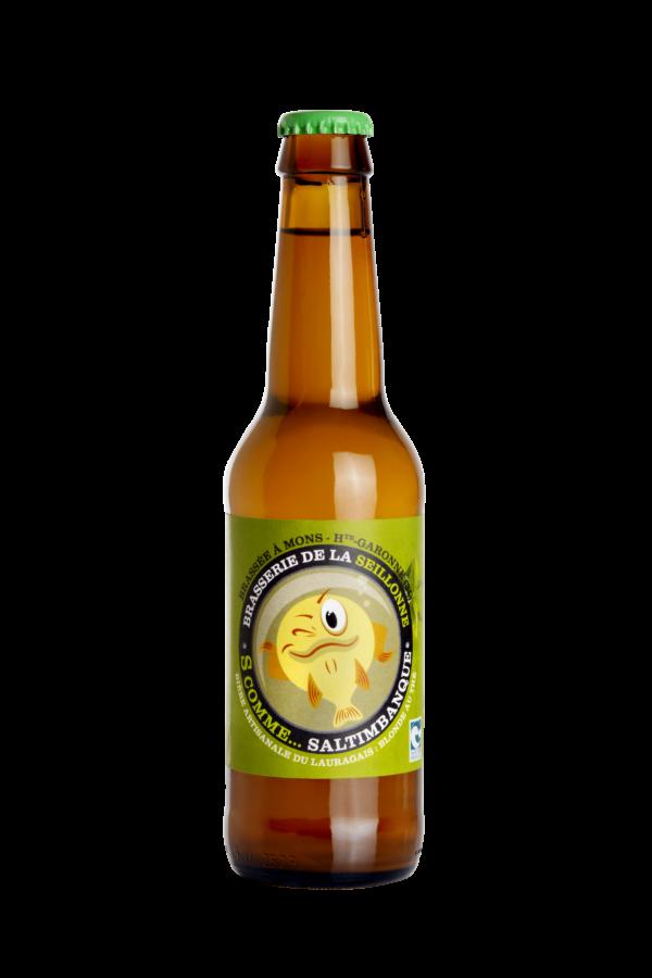 Bière blonde au thé vert Saltimbanque
