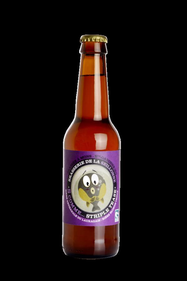Bière blonde triple artisanale Stripletease