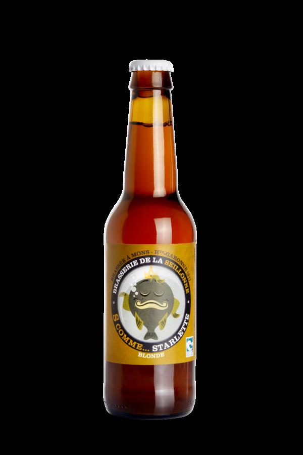 Bière blonde artisanale Starlette