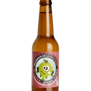 Bière blonde lager Spring power