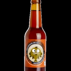 Bière ambrée artisanale Sauvageonne
