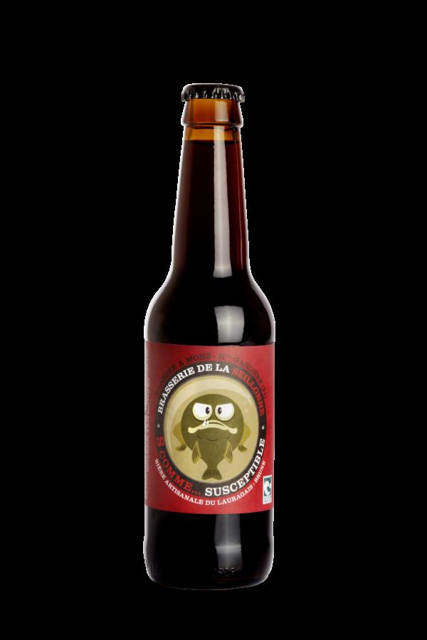 Bière brune Bio Susceptible